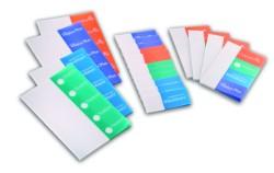 Samolepicí foliové záložky