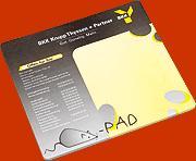 Papírové podložky pod myš
